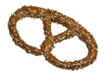 Sesame pretzel Royalty Free Stock Photo