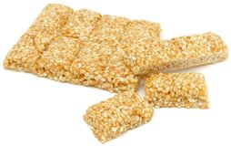 Sesame Seed Bar Royalty Free Stock Photos