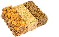 Sesame Seed Brittle - kozinaki Stock Images