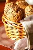 Sesame seed buns Stock Image