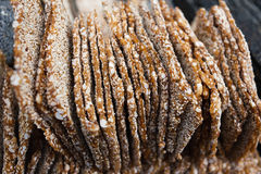 Sesame seed candy Royalty Free Stock Photography