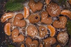 Sesame seed cookies Stock Image