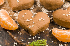 Sesame seed cookies Stock Photo