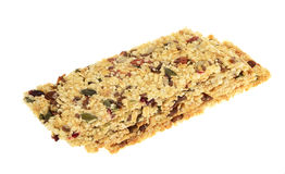 Sesame seed , and nut energy bar Stock Photo