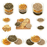 Sesame seed ,pumpkin, sunflower seeds Stock Photography