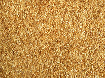 Sesame seeds. Background close up macro view Royalty Free Stock Photo