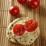 Sesame seeds biscuits Royalty Free Stock Photo