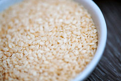 Sesame Seeds Close Up Royalty Free Stock Images