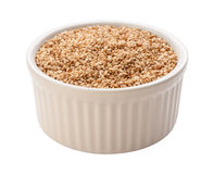 Sesame Seeds Isolated with clipping path Stock Photo