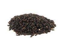Sesame seeds isolated on white background Royalty Free Stock Photo