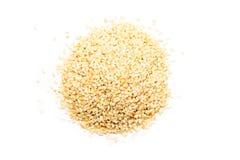 Sesame Seeds Pile Stock Image