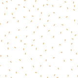 Sesame seeds seamless pattern. Packaging background design. Stock Photos