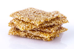 Sesame snack Royalty Free Stock Photo