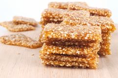 Sesame snack Royalty Free Stock Images