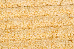 Sesame snack Stock Photo