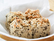 Sesame soft biscuits Royalty Free Stock Photo