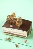 Sesame Square Entremet Cake Royalty Free Stock Photo