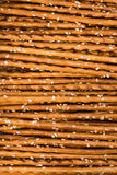 Sesame Sticks (macro shot) Royalty Free Stock Photos