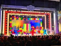 Sesame Street Musical Stage Show Performances at Universal Studios Singapore Stock Photos