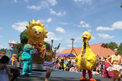 Sesame street parade Pennsylvania Stock Photography