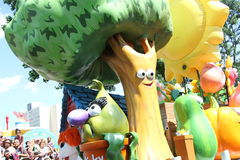 Sesame street parade Pennsylvania Stock Image