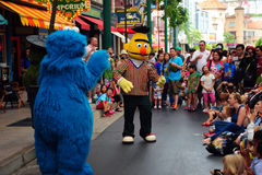 Sesame Street show Royalty Free Stock Photography