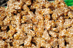 Sesame sugar Stock Images