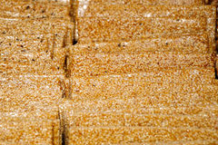 Sesame sugar Stock Image