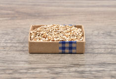 Sesame on wood. Colorful and crisp image of sesame on wood Royalty Free Stock Photos