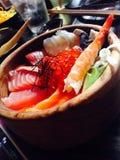 Sesami donburi. Japanese food,Sesami Stock Photos