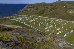 Sesaside graveyard at Twillingate, Newfoundland