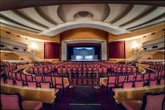 SESC Quitandinha Quitandinha宫殿前赌场酒店的- Petropolis,里约热内卢,巴西剧院室 库存图片