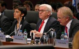 Sesión cerrada del 23ro consejo de la reunión ministerial del OSCE Foto de archivo
