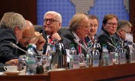 Sesión cerrada del 23ro consejo de la reunión ministerial del OSCE Imágenes de archivo libres de regalías