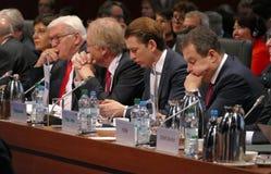 Sesión cerrada del 23ro consejo de la reunión ministerial del OSCE Fotografía de archivo libre de regalías
