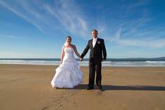 Sesión de foto de la boda Fotografía de archivo