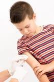 Sesión de la vacunación fotos de archivo