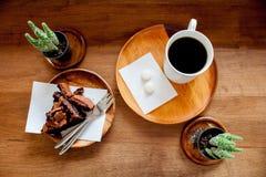 Sesión del café de la tarde Imagenes de archivo