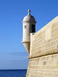 Sesimbra堡垒在葡萄牙 图库摄影