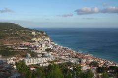 Sesimbra, Португалия стоковое фото rf