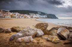 Sesimbra Beach Stock Image