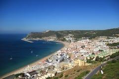 Sesimbra Portugal Stock Foto