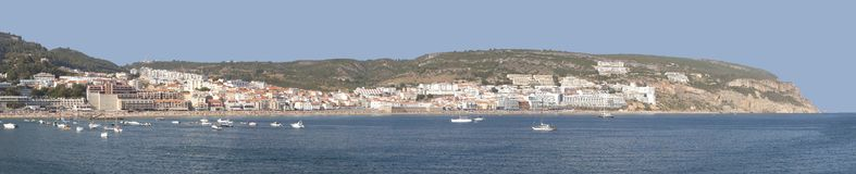 Sesimbra panorama in hi resolution. Fantastic view from the port