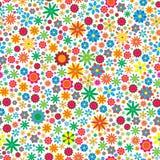 Sesmless Blumen-Hintergrund Lizenzfreie Stockfotos
