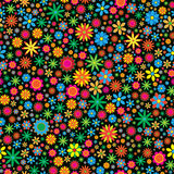 Sesmless Flower Background Stock Photos