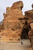 Sesriem峡谷,纳米比亚 免版税库存照片