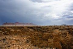 Sesriem峡谷,纳米比亚 图库摄影