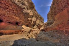 sesriem каньона Стоковая Фотография