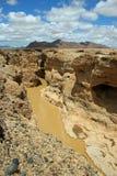 sesriem каньона Стоковые Изображения