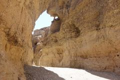 Sesriem, каньон Стоковые Изображения RF